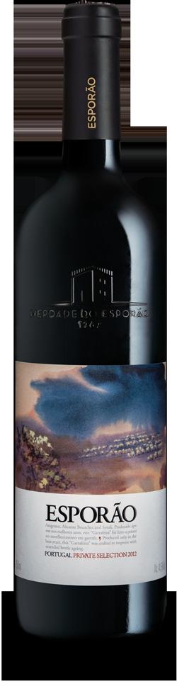 Esporao Private Selection Tinto 2012 rode wijn