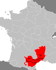 Map Languedoc