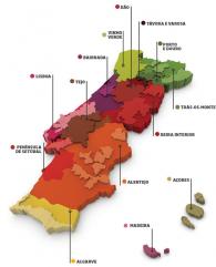 Portugal wijngebieden