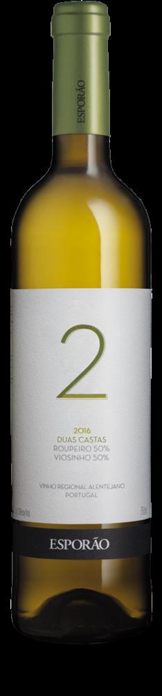 Esporao Duas Castas Branco 2016 witte wijn