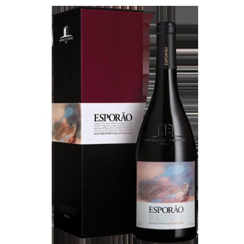 Esporao Reserva Tinto Magnum in geschenkverpakking