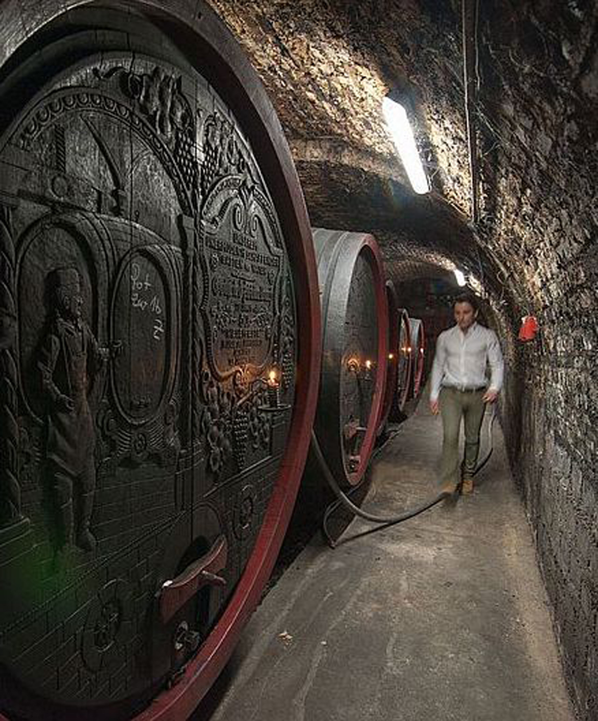 Weingut Mittelbach barrels