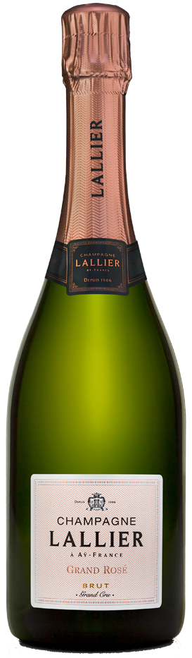 Champagne Lallier Grand Rose Brut