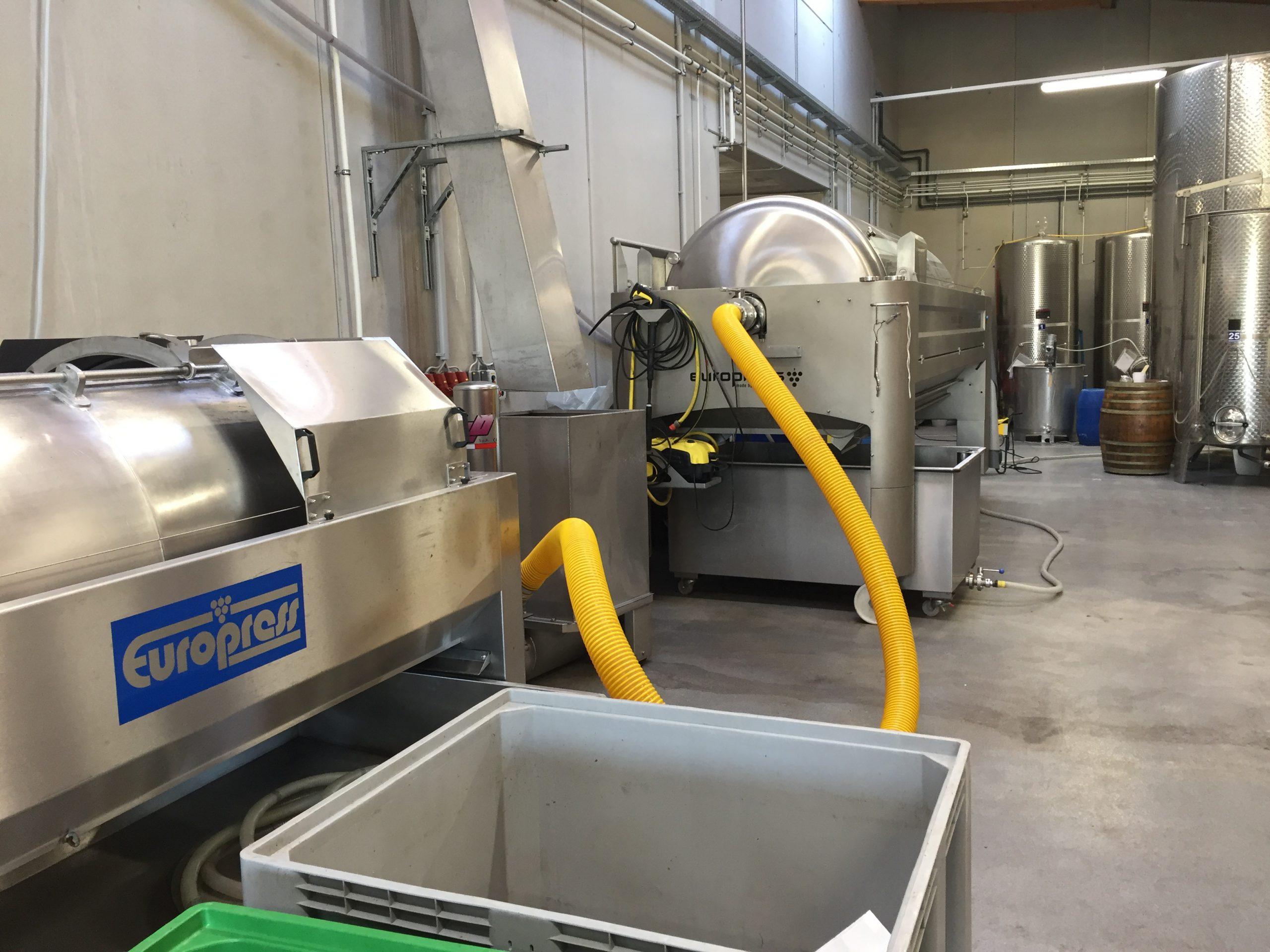 Weingut Mittelbach presses