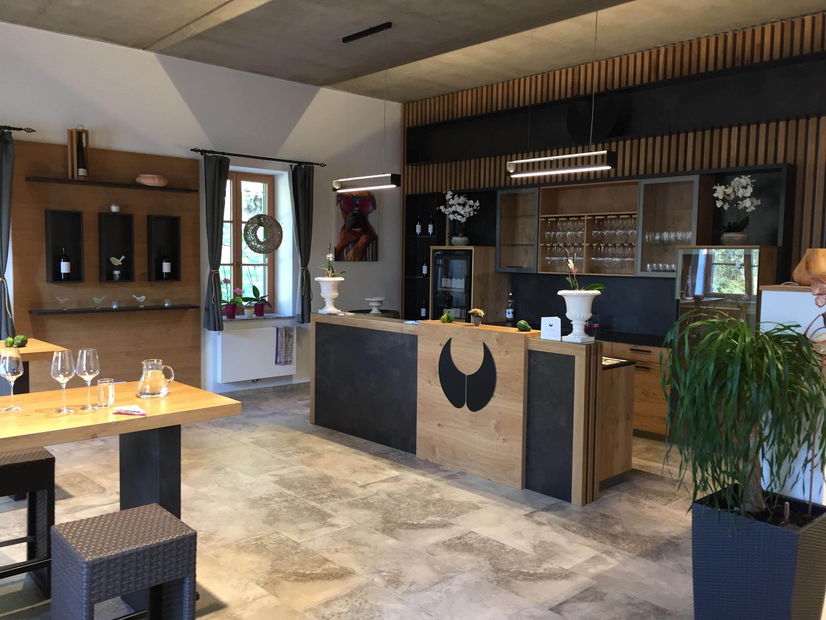 Weingut Mittelbach tasting room