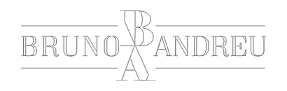 Bruno Andreu logo blanc